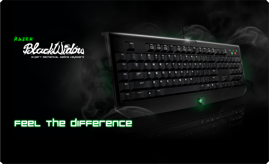 Razer Blackwidow Gaming Keyboard Expert Mechanical Gaming
