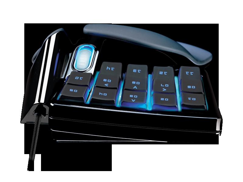 Razer Nostromo Gaming Keypad - Ergonomic Keypad for Gaming - Razer