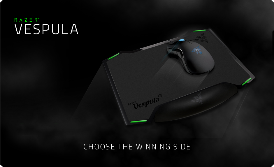 Dual Sided Gaming Mouse Mat Razer Vespula