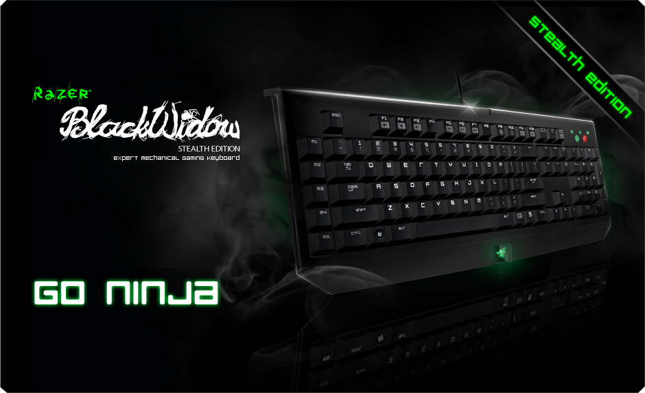 New Drivers: Razer BlackWidow Stealth Edition Keyboard