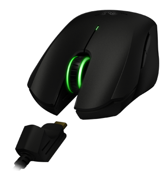 4acfc68a45f Achieve both the frenzy of wired and the freedom of wireless play with the Razer  Orochi. It performs equally well both wired and through wireless Bluetooth  ...