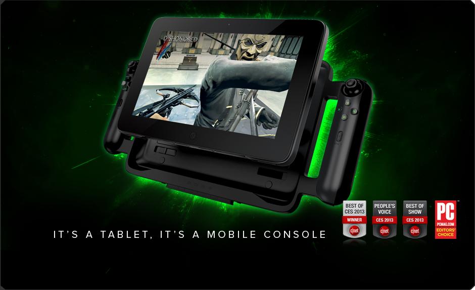 Gamepad Controller for the Razer Edge - Brazil