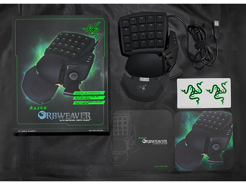Razer Orbweaver Gaming Keypad - Elite Mechanical Gaming
