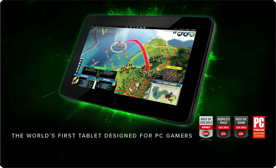 Razer Edge Pro Gaming Tablet The World S First Tablet