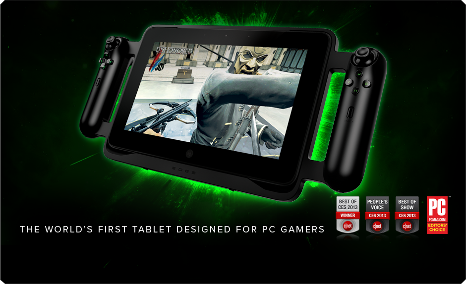 razer edge pro gaming tablet the world 39 s first tablet. Black Bedroom Furniture Sets. Home Design Ideas