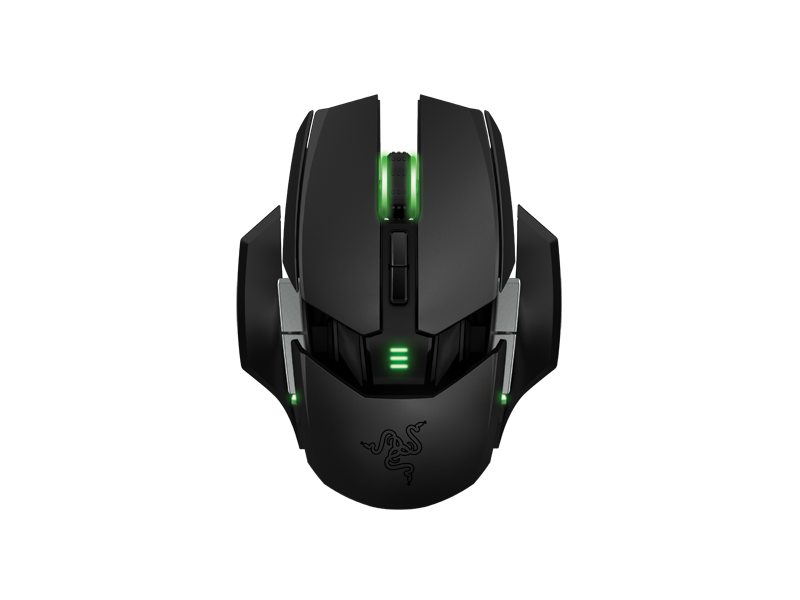 Razer Revamps Naga MMO Mouse With Mechanical Switches, Left