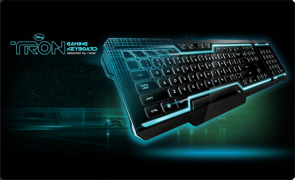 Tron 174 Gaming Keyboard Designed By Razer Rez Amp Derez