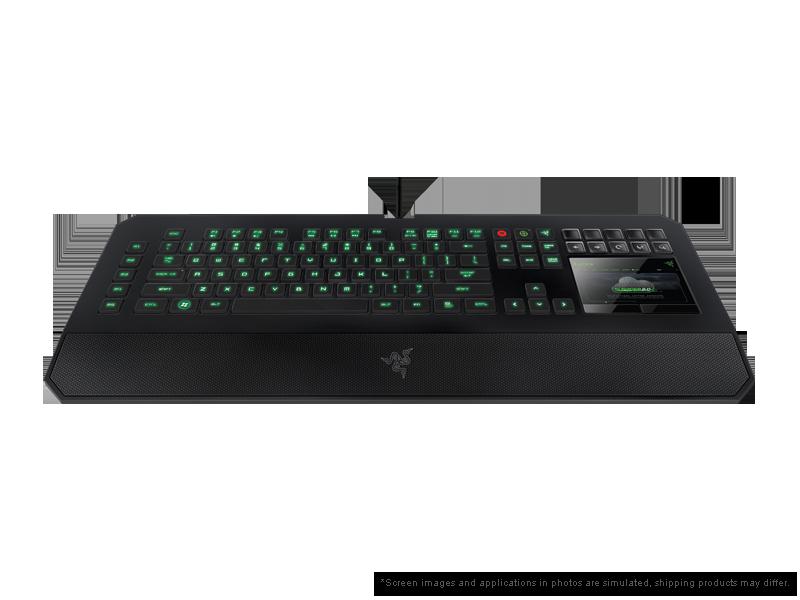 Razer DeathStalker Ultimate Gaming Keyboard - Switchblade User Interface Keyboard - Razer United ...