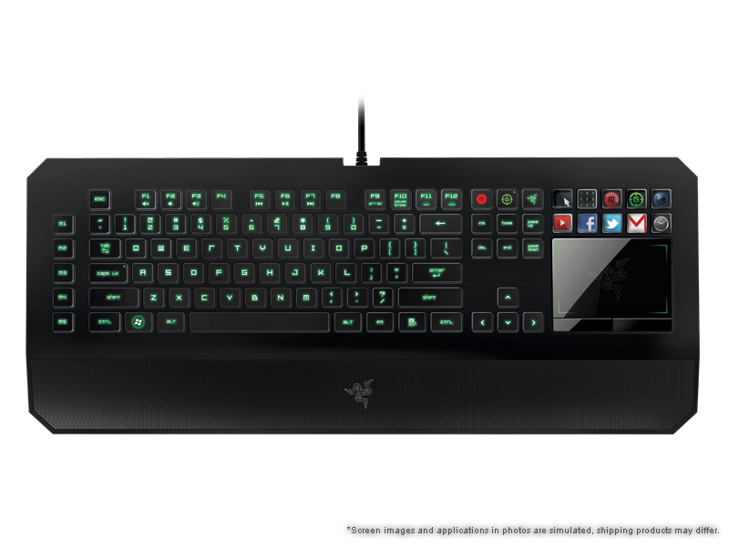 Razer deathstalker ultimate gaming keyboard switchblade user
