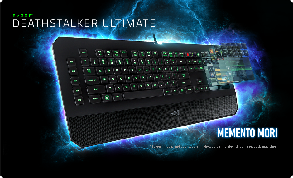 Razer DeathStalker Ultimate Gaming Keyboard - Switchblade
