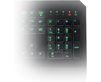Razer DeathStalker Gaming Keyboard - Fully Programmable Keys