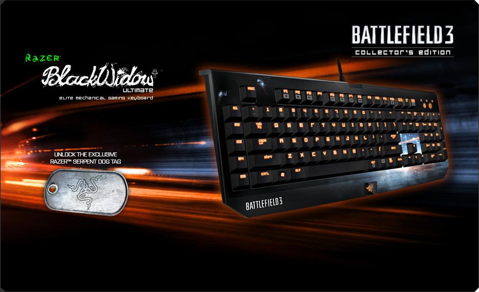 Battlefield  Razer Blackwidow Ultimate
