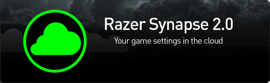 RAZER SYNAPSE 2.0 BRINGS PAPERLESS WARRANTY TO THE CLOUD Razer, SYNAPSE 1
