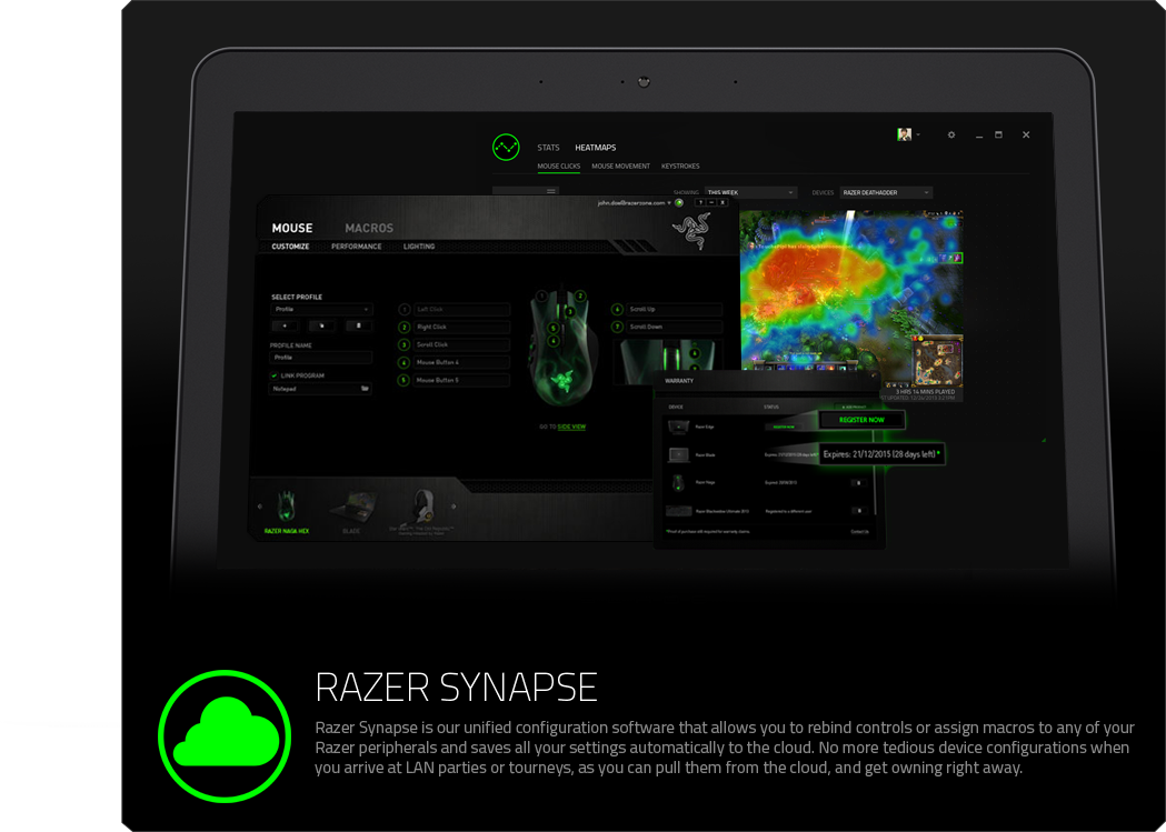 Razer Synapse - Cloud-Based Driver Software | Razer United States
