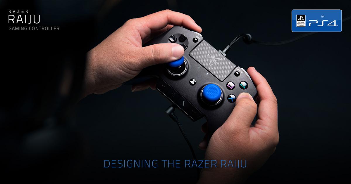 designing the razer raiju gaming controller for ps4 razer germany