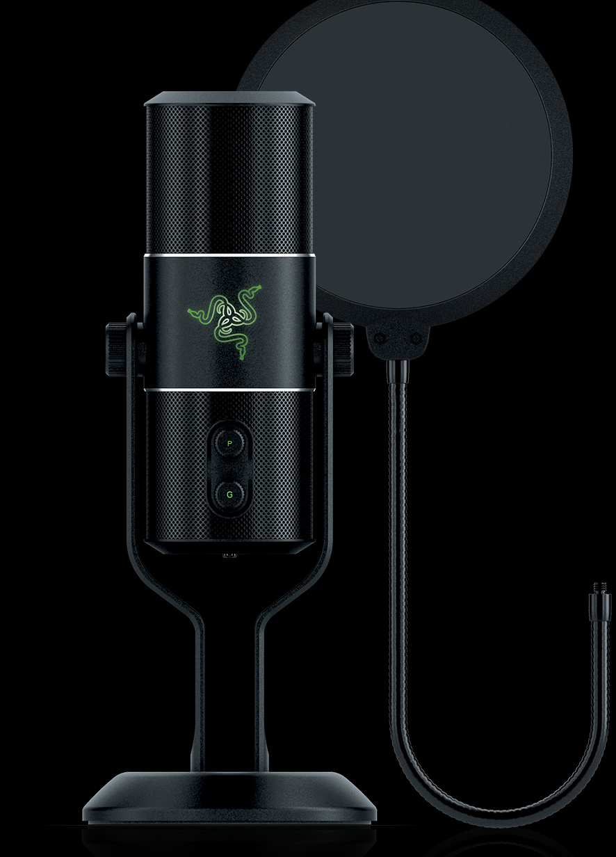 Razer Seiren Microphone and Audio Recorder Main Image