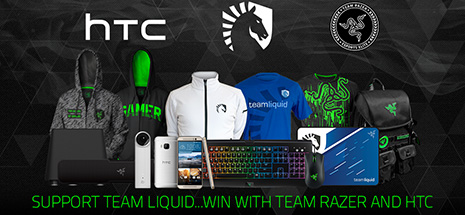 Team Razer, HTC and Team Liquid Giveaway