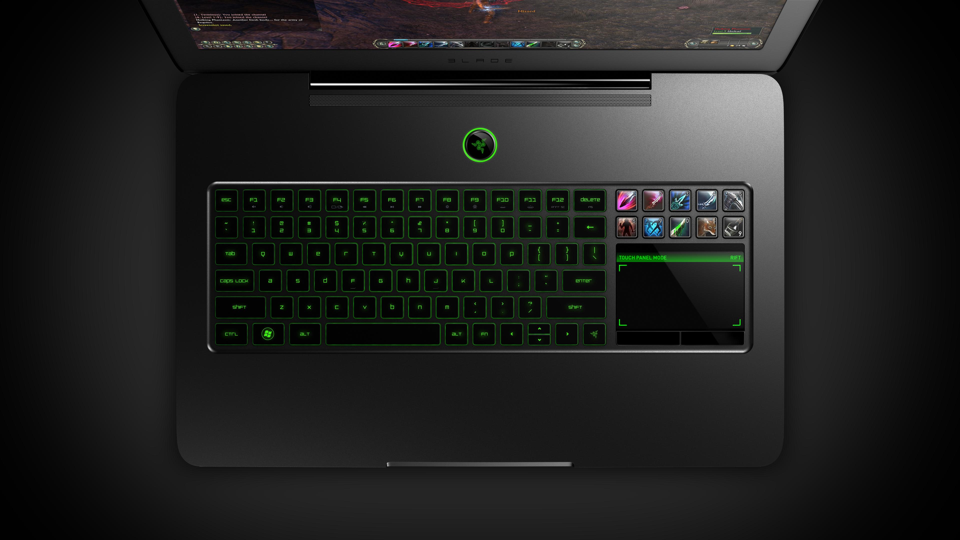 Razer Switchblade Gaming Laptop Holy Shit The Keyboard