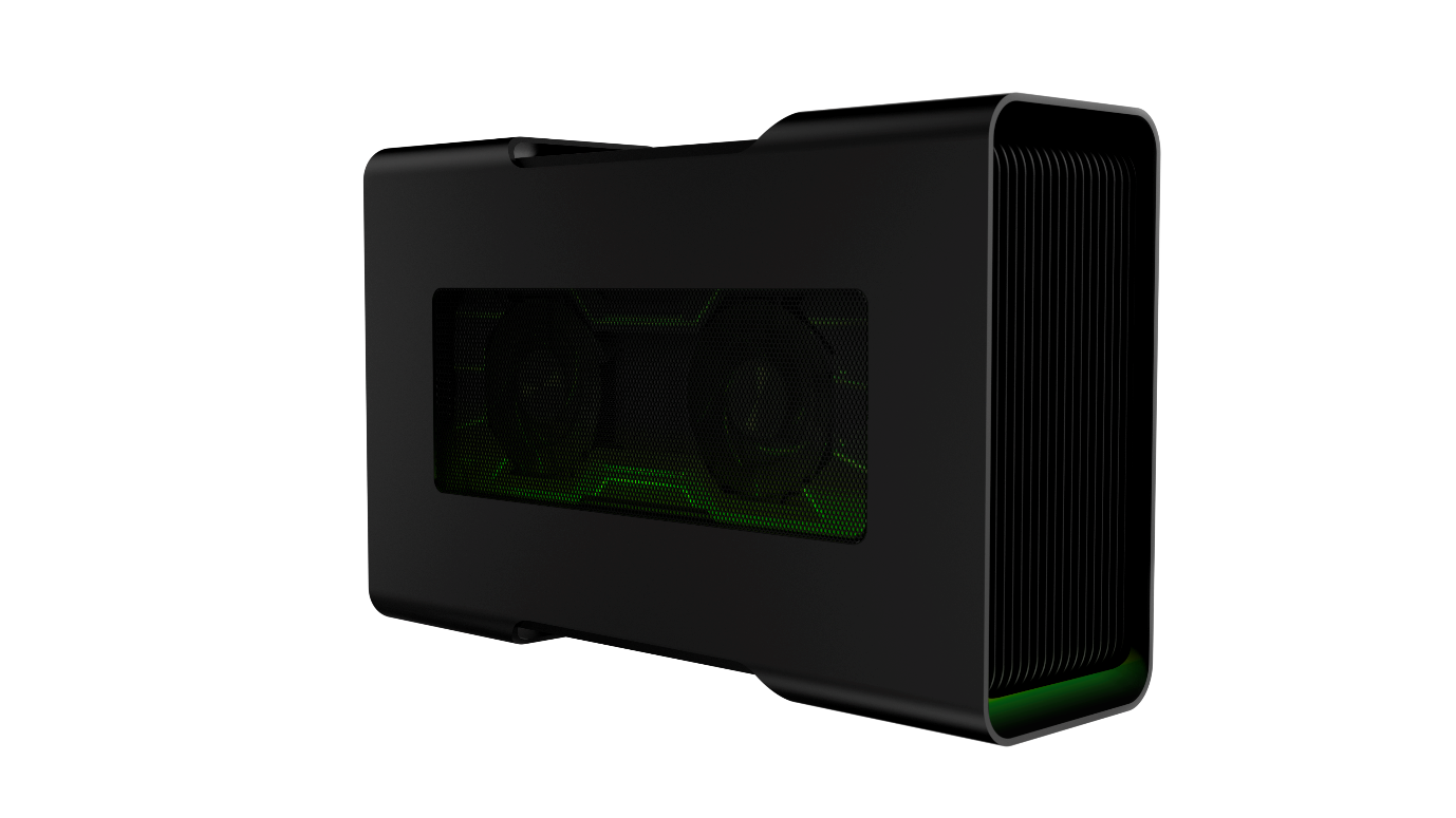 """Best of CES"" award-winning Razer Core."