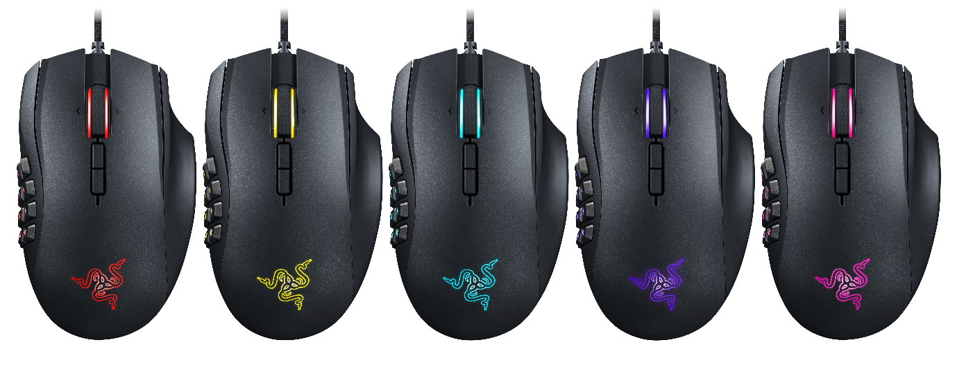 Razer Upgrades World's Best MMO Gaming Mouse with State-of